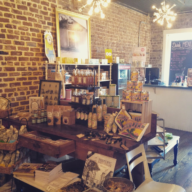 Next, we visited Byrd's Cookie Shop. I visit this place every time that I go to Savannah- free cookies, what's not to love?!