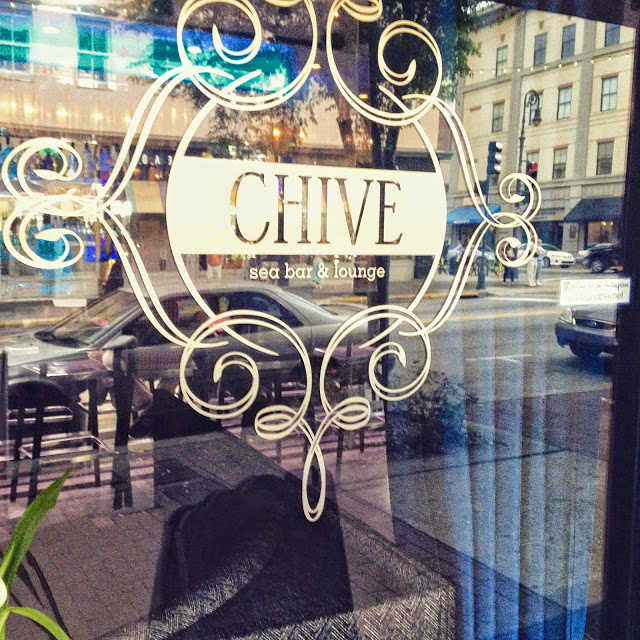 Later that night, the hubby and I dined at Chive. Amazing restaurant if you ever visit Savannah!