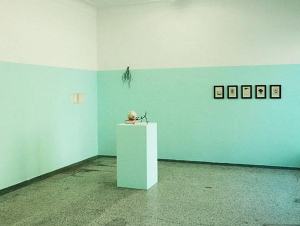 Katie Holten, installation view,solo show,VAN HORN, Düsseldorf.