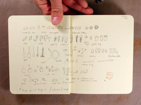 NOTIONAL, drawing monograph of artist Katie Holten, published by Coracle Press.