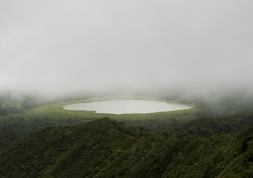 Grand Etang Lake, Grenada, West Indies