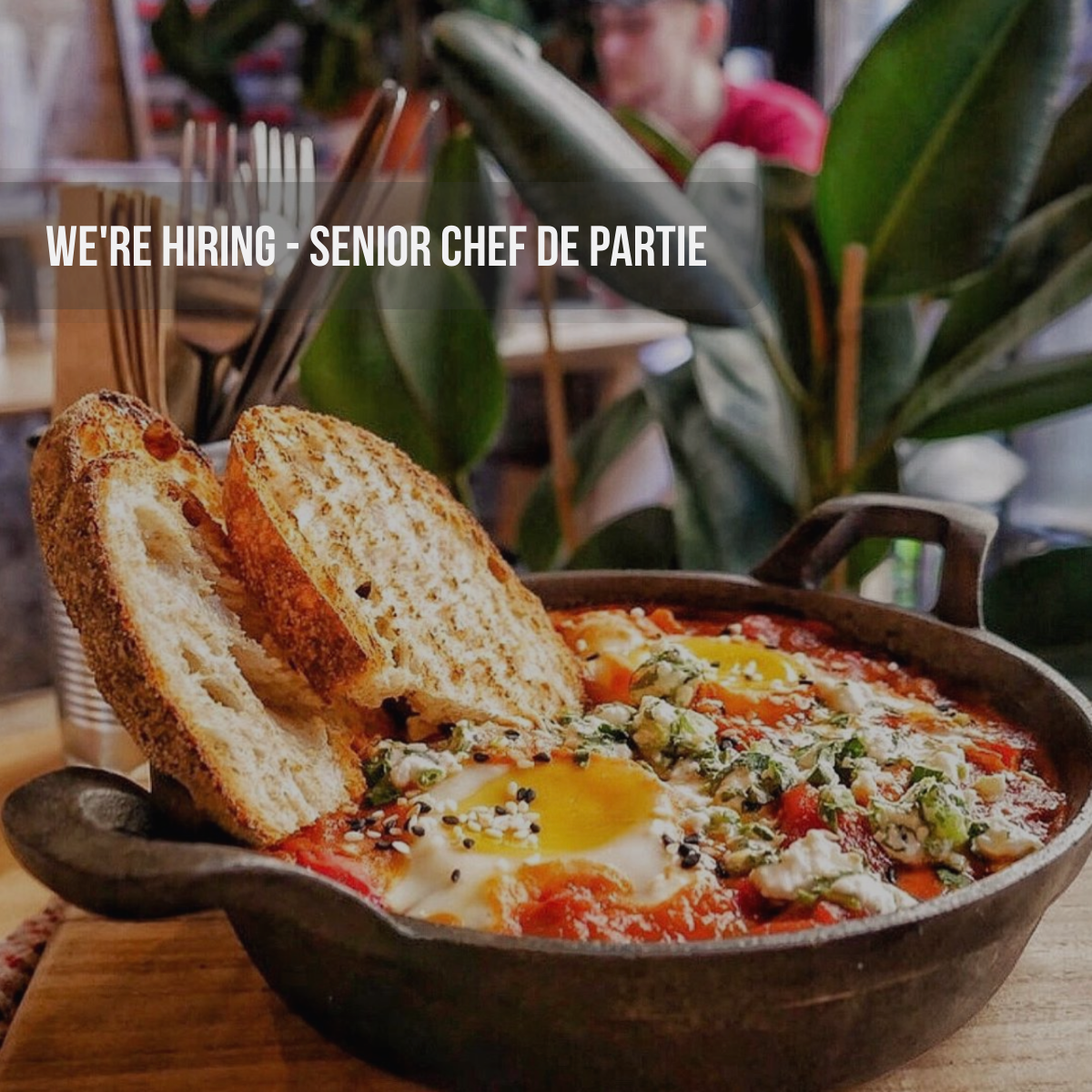 Brunch Chef/ Senior Chef De Partie Bethnal Green