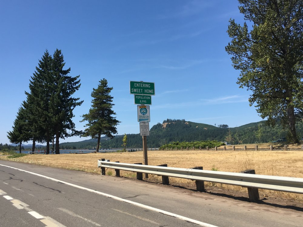 """Sweet Home Oregon-ah!"""