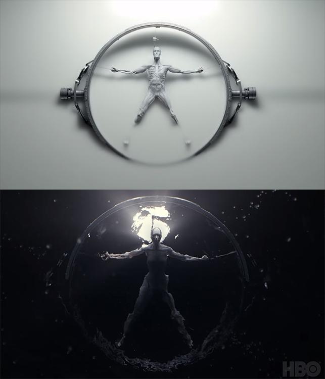 Season One vs. Season Two. Images courtesy of HBO.