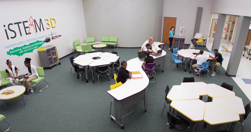 DeSoto Independent School District iSTEAM3D environment.