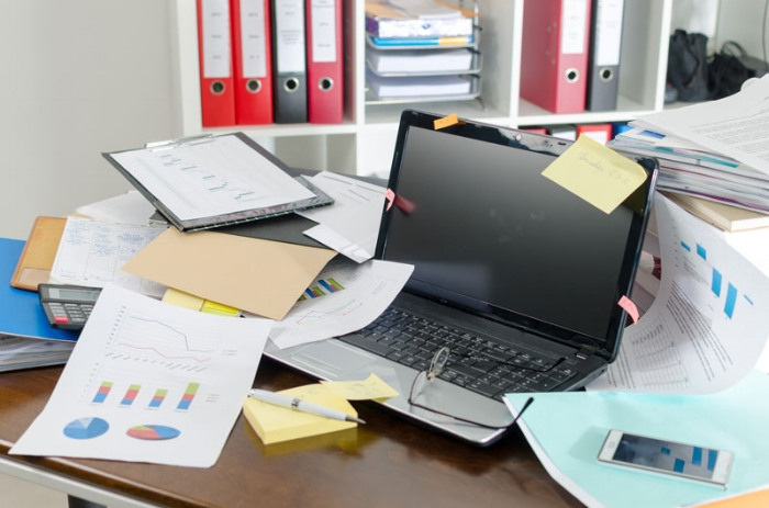 Messy Desk -
