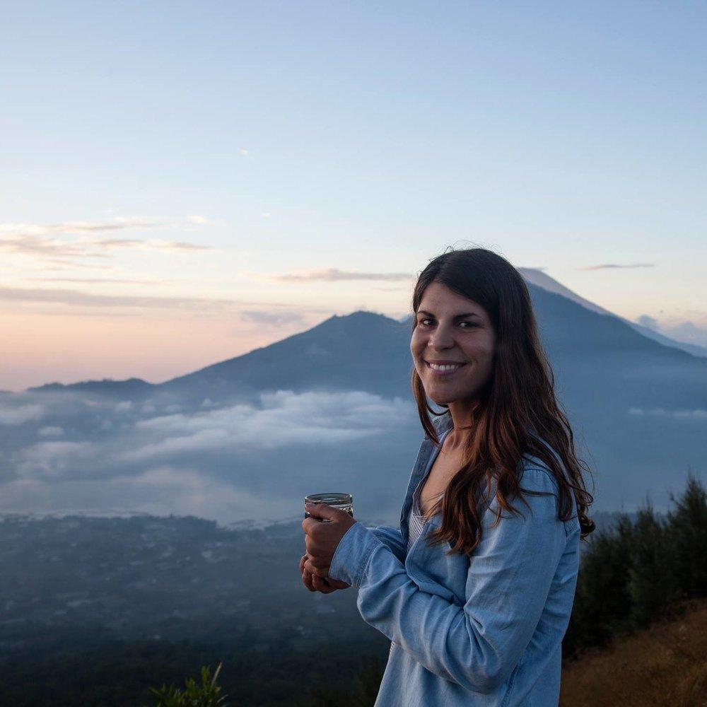 volcan bature indonesie bali coffee