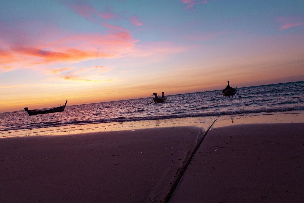 Les rives de la Thaïlande