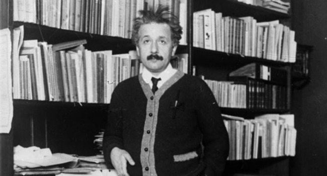 Young Einstein at the Patent Office in Berlin, 1920's