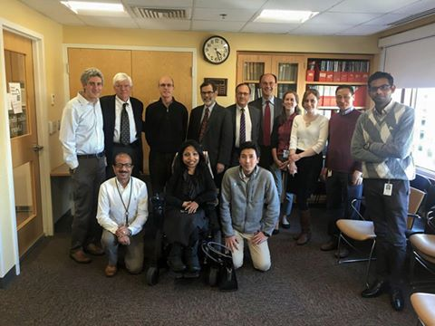 Left to Right Front: Ashok Khatri MS, Neena.; Hiroshi Noda DVM.: Rear: Marc Wein MD PhD, John Potts MD, Tom Gardella PhD, Hank Kronenberg MD, Roland Baron DDS PhD, Michael Mannstadt MD, Debbie Mitchel MD, Fatemeh Mirzamohammadi MD, Jun Guo MD PhD, a fellow from  nephrology, to be identified later. )