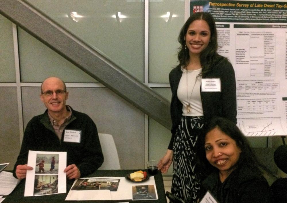 Dr. Gardella, Nadia Bodkin, and Neena Nizar