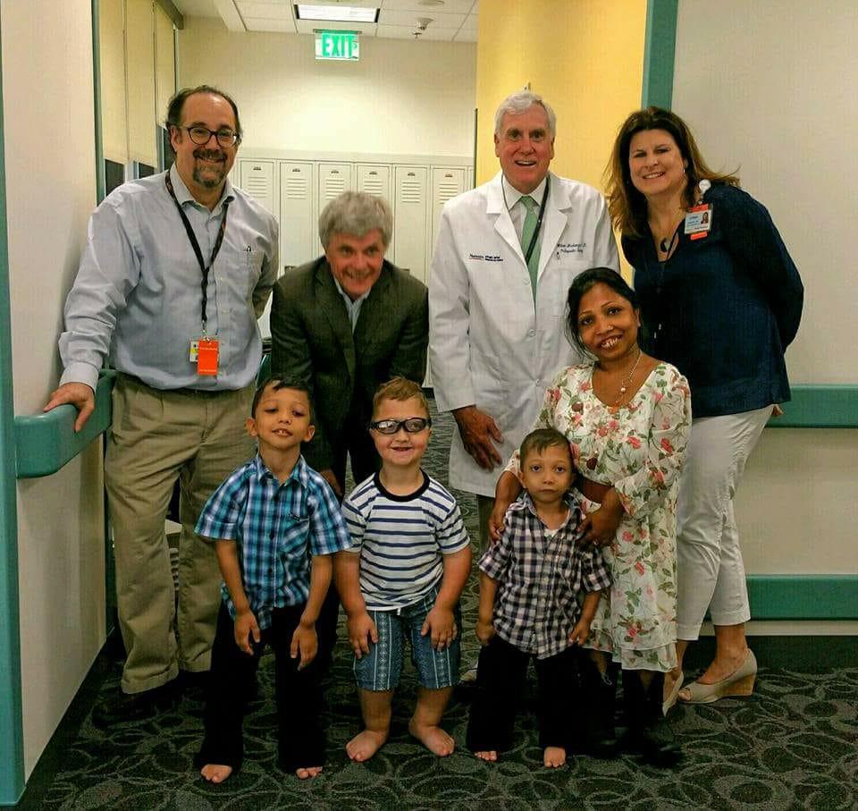 Dr. Bober, Dr Jueppner, Dr. Mackenzie, & Colleen Ditro at Nemours, Delaware