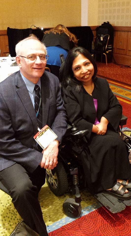Dr. Gahl and Neena Nizar