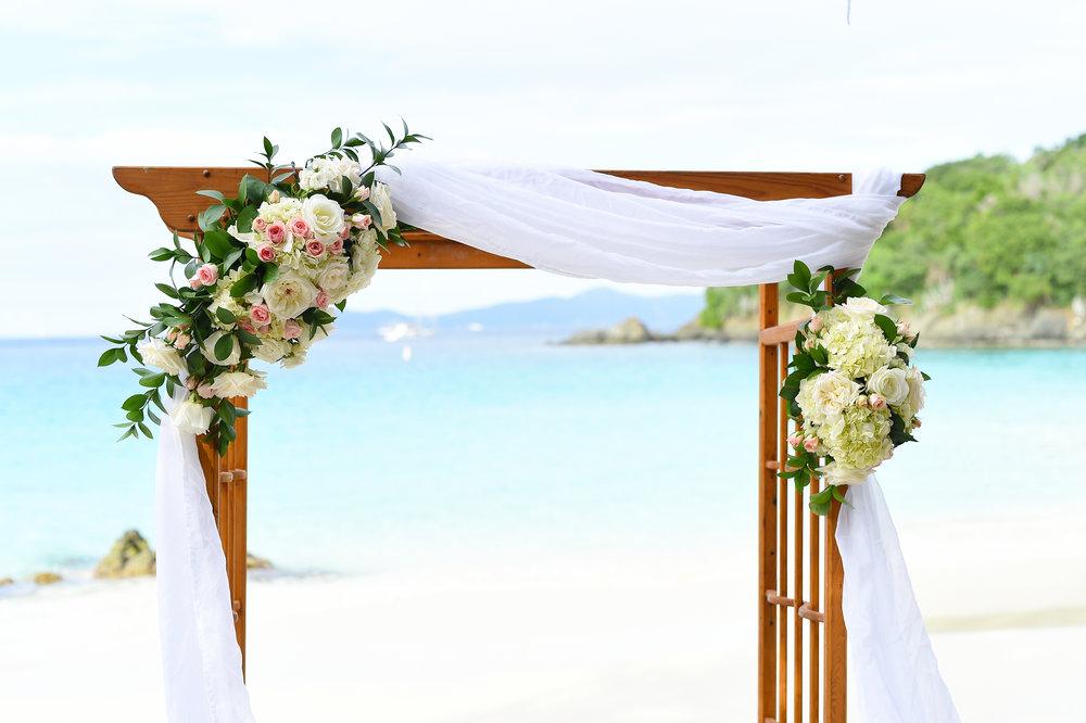 wedding design color vs white tropical bride guide