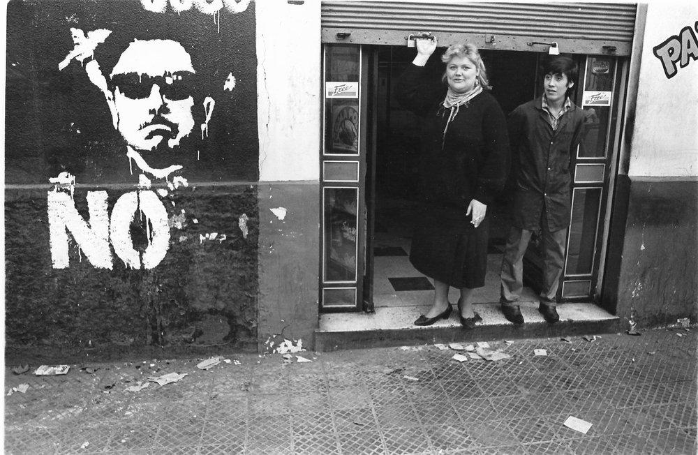 <span>Calle de Santiago, 'NO'</span>