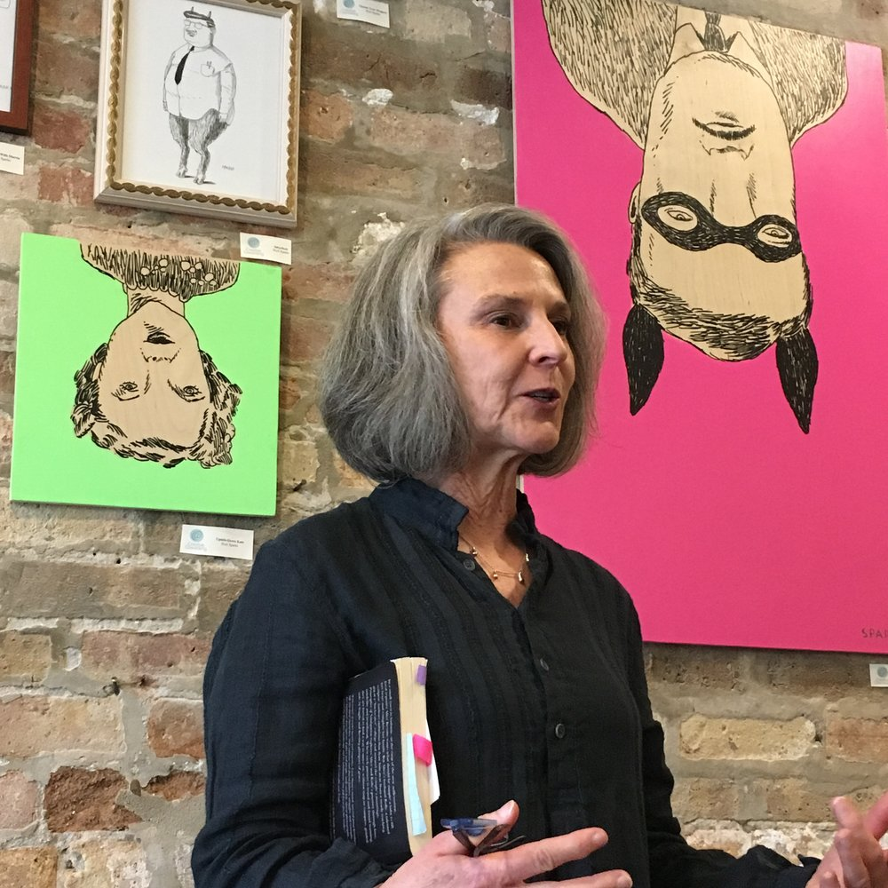 Lynn Sloan at Creative Coworking.