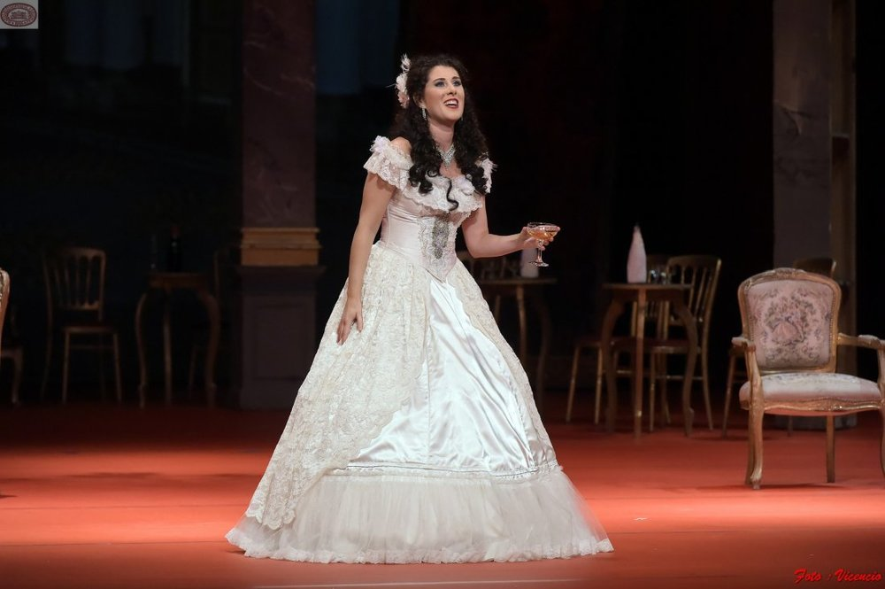 Violetta,   La traviata   National Theatre in Belgrade (2017)