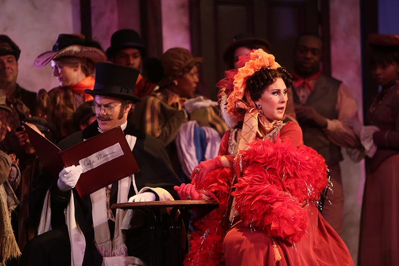 Musetta,  La Bohème   Martina Arroyo Foundation, NYC (2016)