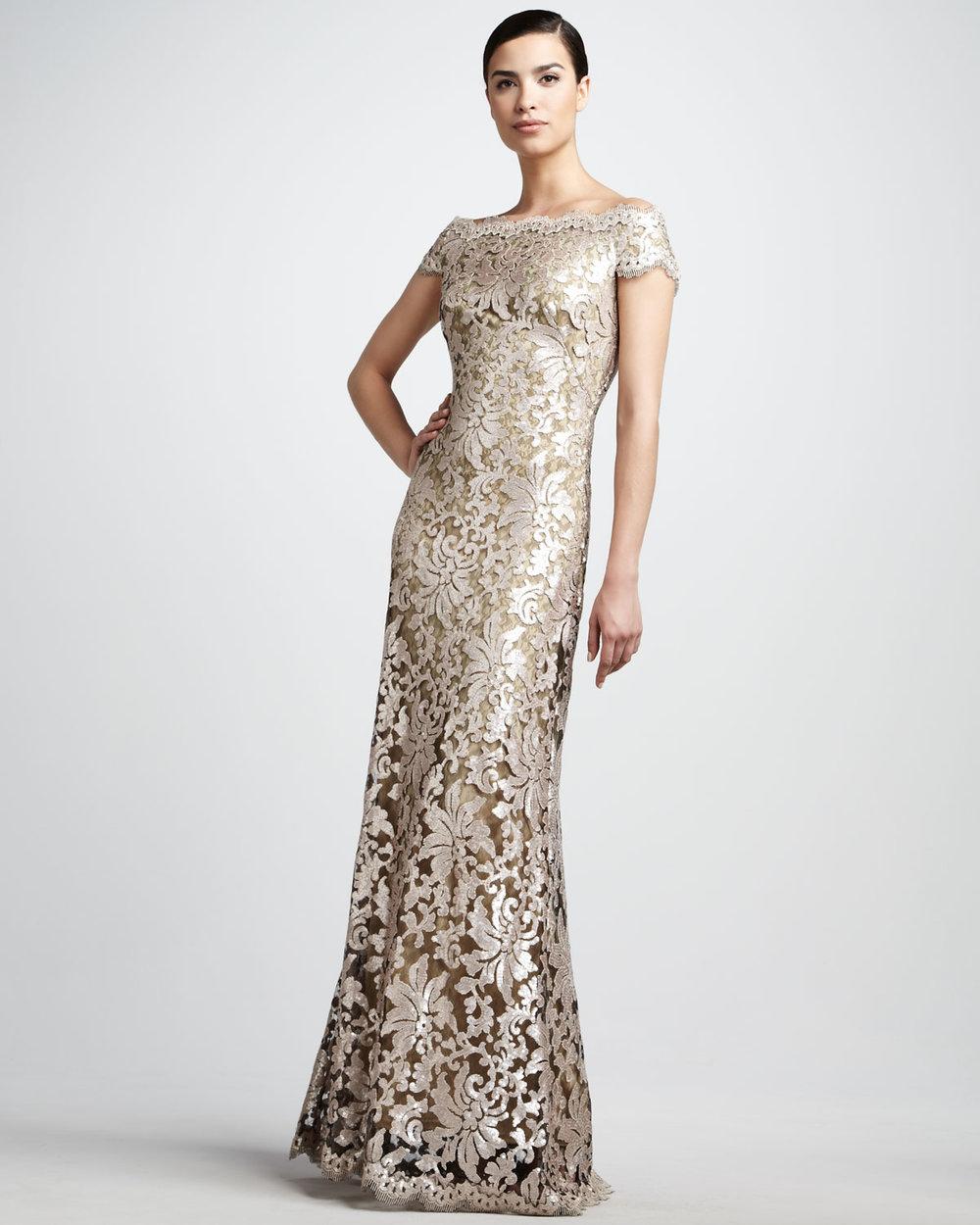 the evening dress