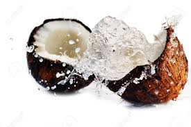 watery coconut