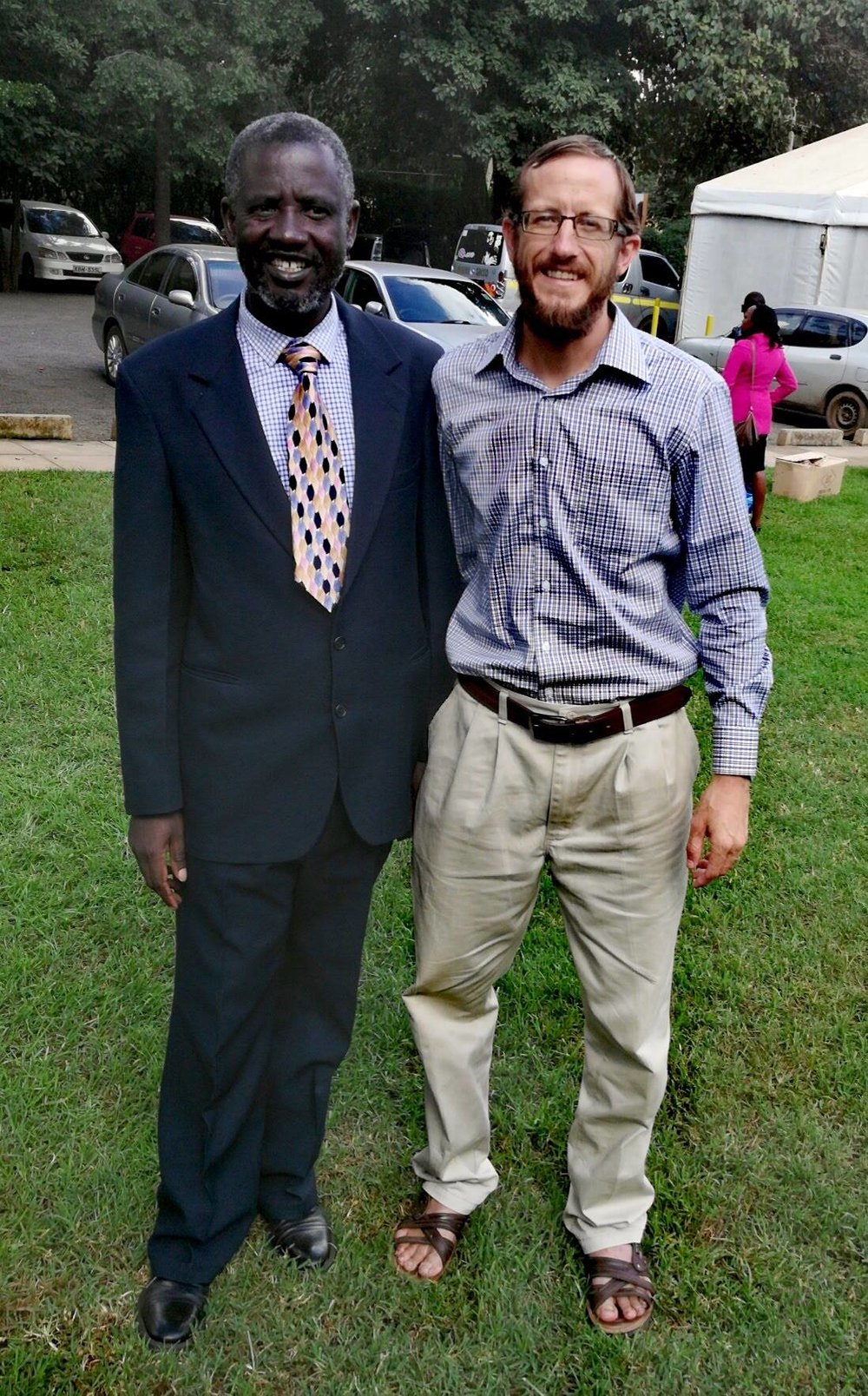 I was privileged to get to meet pastor  Michael Maura from Bethesda Baptist Church in Nairobi. — with Michael Maura .