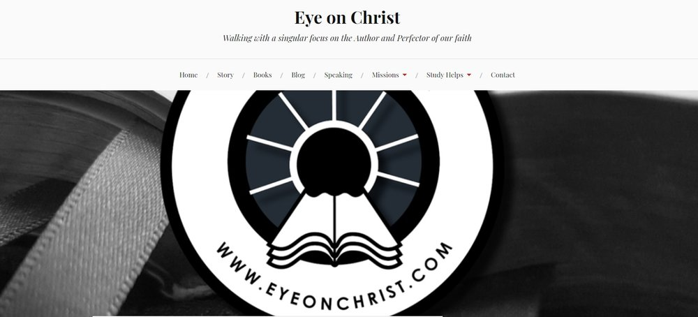 Jeremy's Eye on Christ blog site! Click image to visit.