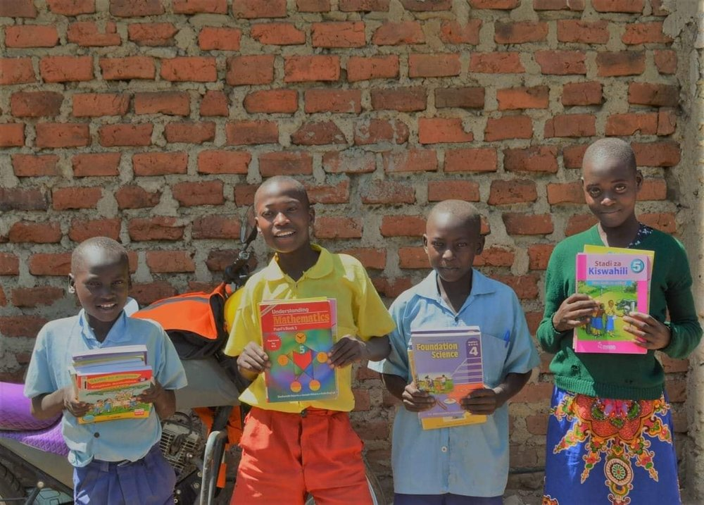 4 of our recent children we took in to our Neema Mercy Home and Neema Christian Academy