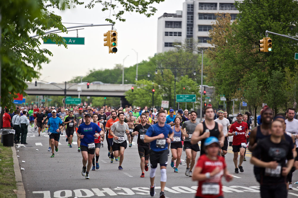 NYRR works with city agencies to make sure the entire 13.1-mile course—including the six-mile stretch of Ocean Parkway—is in pristine condition for race day.