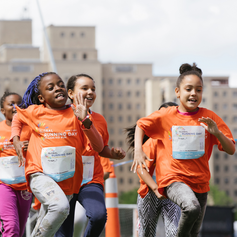 1,300 - The number of NYC public school students who took part in an NYRR Mighty Milers Fun Run at Icahn Stadium on Randall's Island as part of the Million Kid Run on June 7.