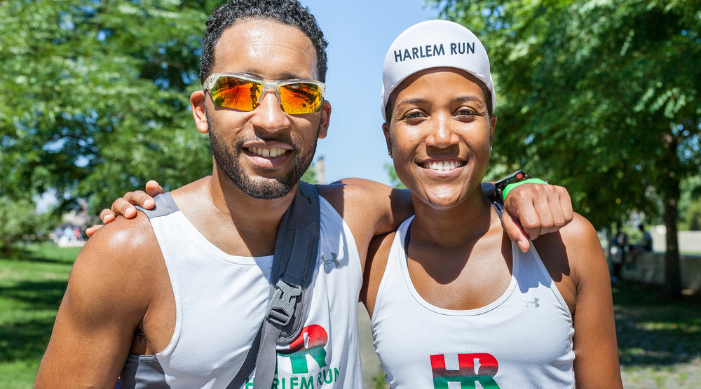 Amir Figueroa with Harlem Run founder Alison Désir