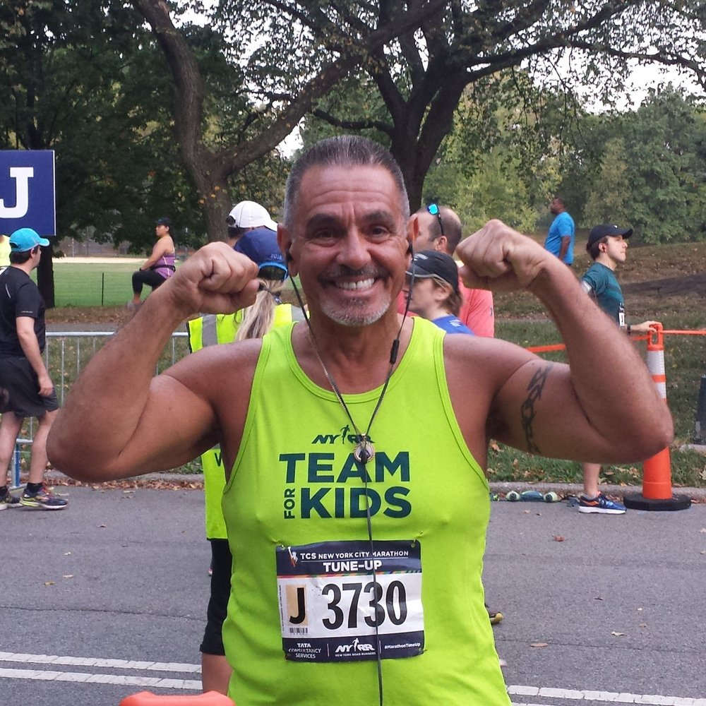 In September 2016, Nelson Ruiz used the TCS New York City Marathon Tune-Up to prep for his first 26.2-miler.