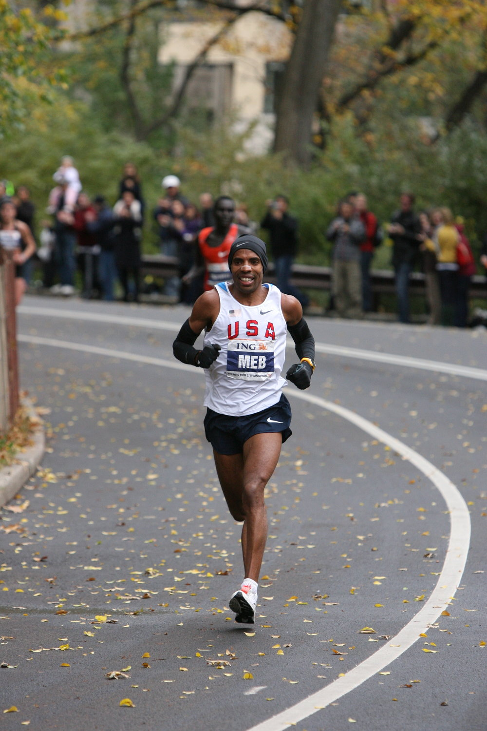 Building his lead after making a move to the front in Central Park