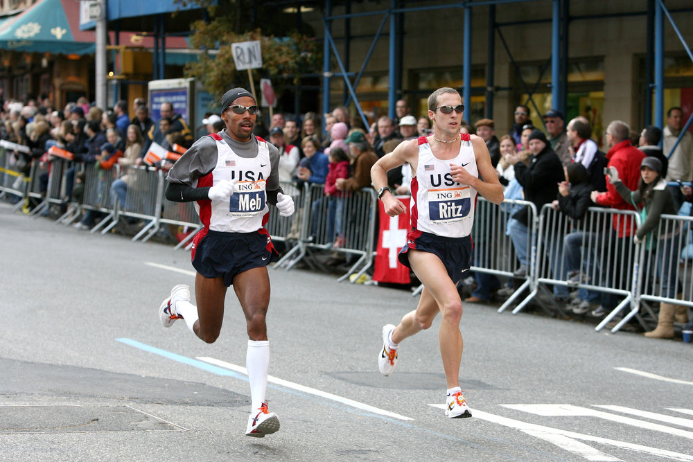 Keflezighi and Ritzenhein in 2006...
