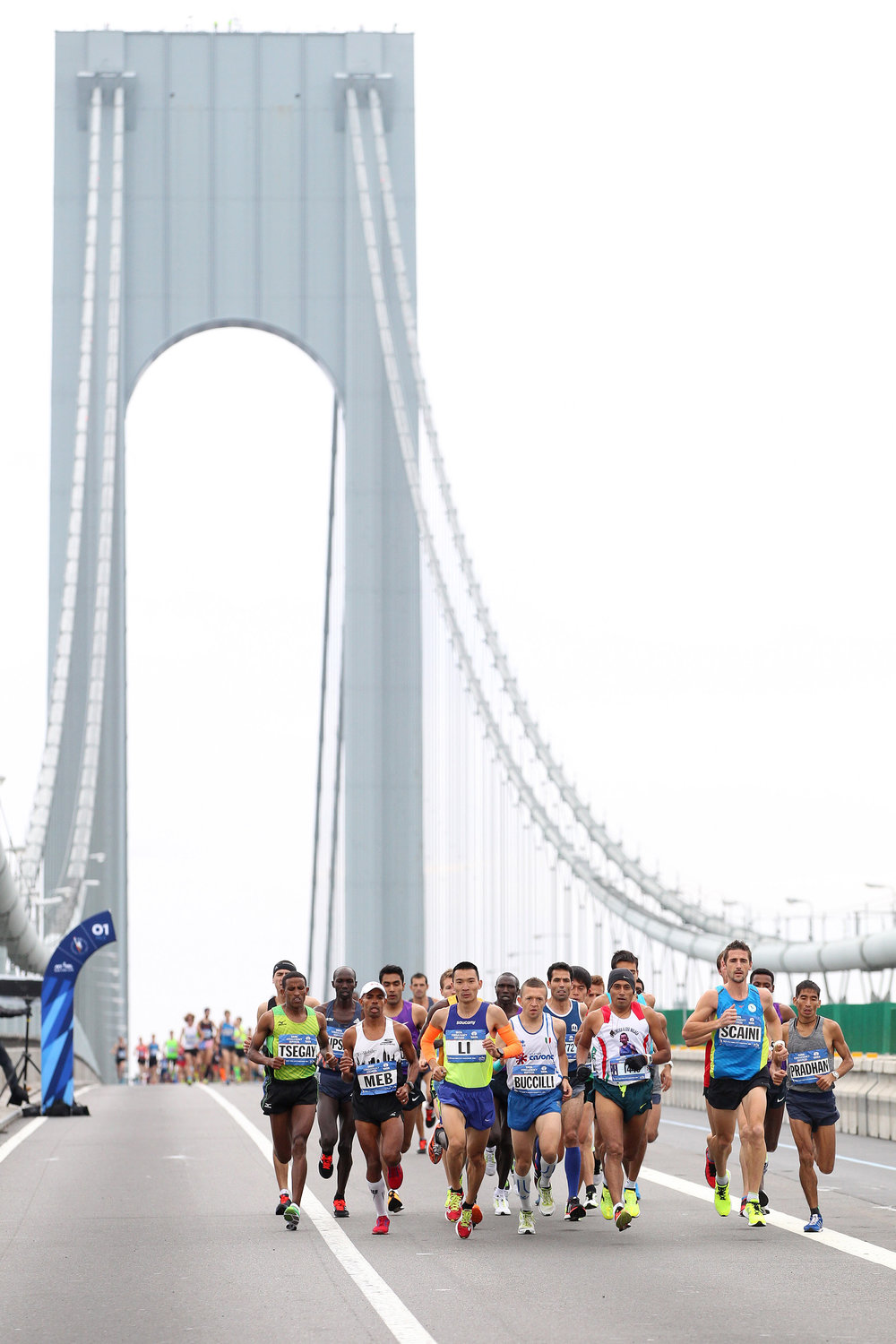 Crossing the Verrazano-Narrows Bridge for the 10th time in his career
