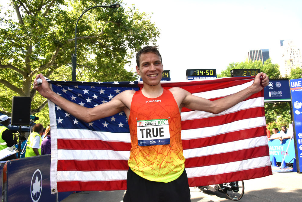 In 2015, Ben True was the first American in eight years to win the UAE Healthy Kidney 10K.