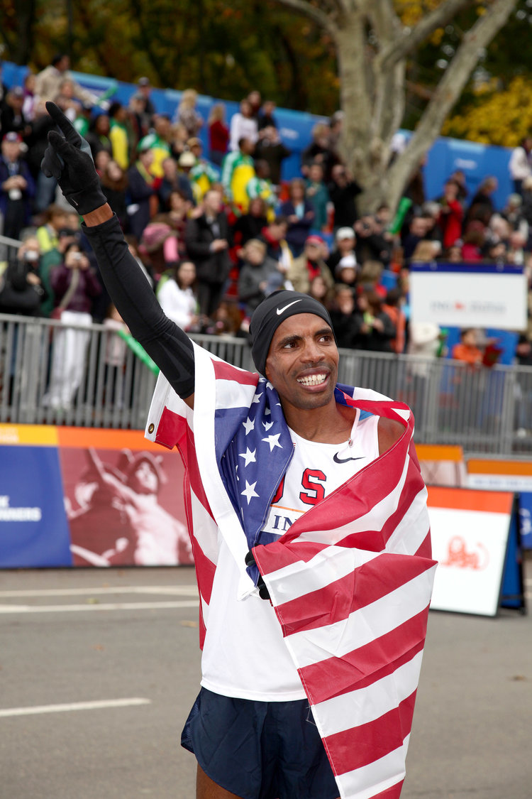 In 2009, Meb became the first American in 27 years to win the New York City Marathon.