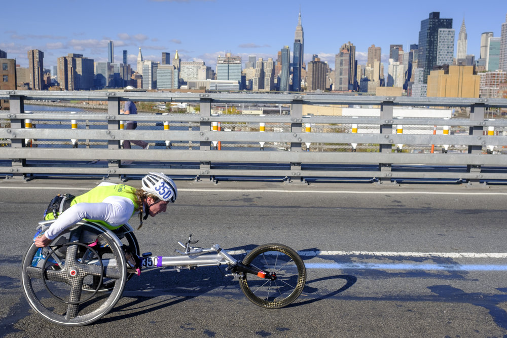 Tatyana McFadden will go for a record-breaking sixth career victory on November 5.