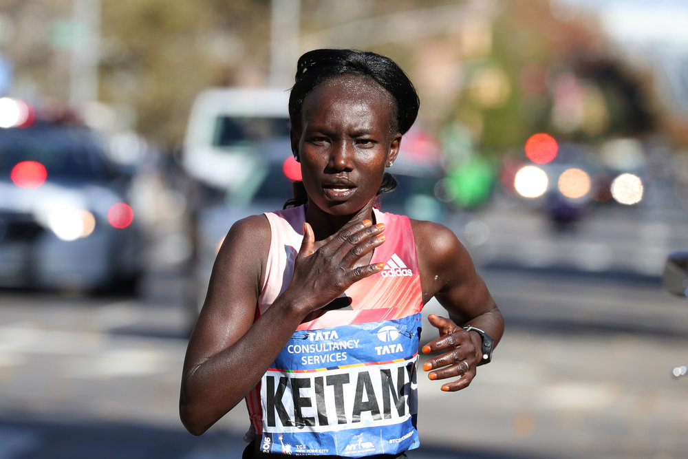 Mary Keitany will go for a fourth consecutive win.