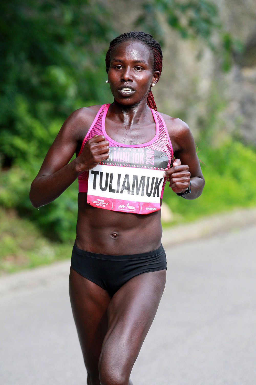 Aliphine Tuliamuk will run her first marathon as a U.S. citizen.