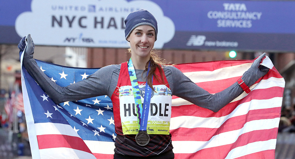 Molly Huddle - United StatesShe won her third-straight United Airlines NYC Half in March, and in November, she won the Abbott Dash to the Finish Line 5K and USATF 5K Championships in a course-record time.