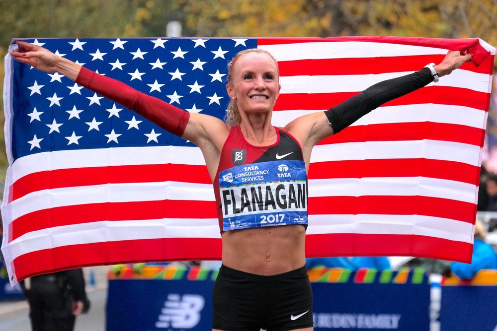 Shalane Flanagan - United StatesShe became the first American woman to win the open division at the TCS New York City Marathon in 40 years, posting the second-fastest time by an American woman ever in the race with a 2:26:53.