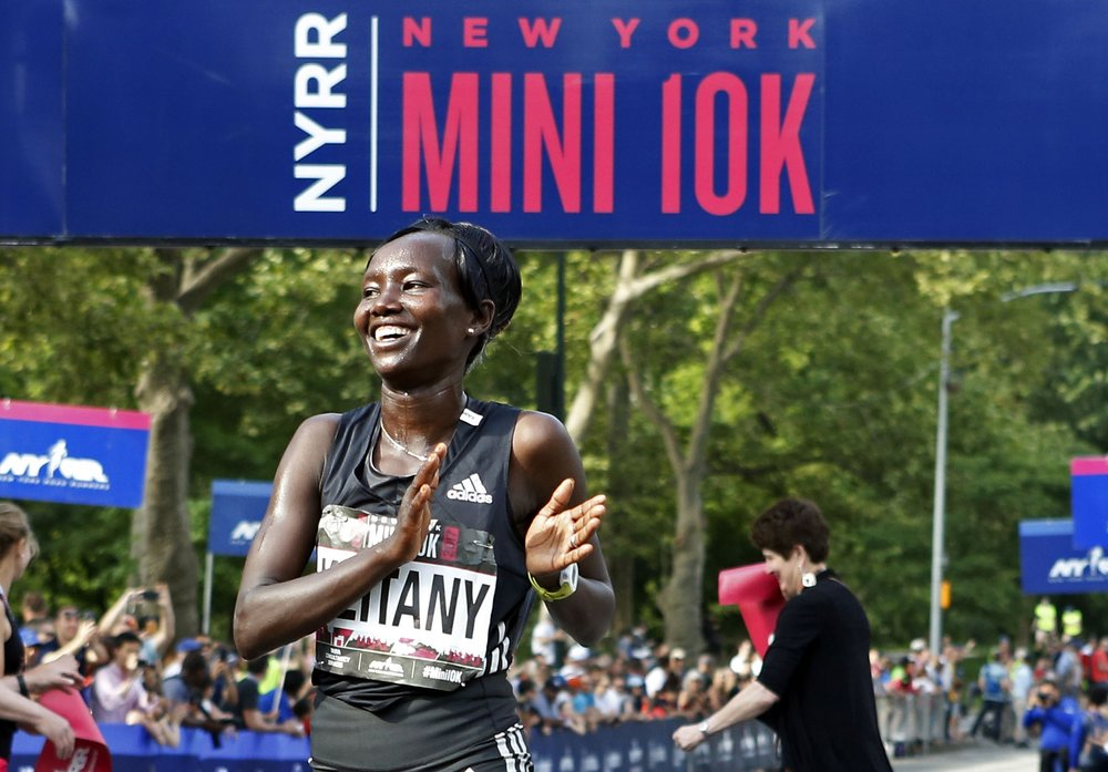 Mary Keitany - KenyaShe won her second career NYRR New York Mini 10K in Central Park in June, and then finished her year with a fourth-straight podium placing at the TCS New York City Marathon, finishing as the runner-up.
