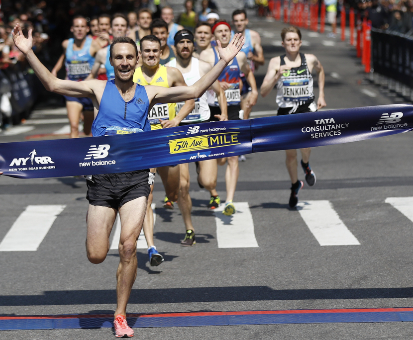 Nick Willis - New ZealandHe won the New Balance 5th Avenue Mile in 3:51.3, tying the men's record with his fourth victory. The four-time Olympian from New Zealand is now tied with Isaac Viciosa of Spain for the most men's 5th Avenue Mile titles.