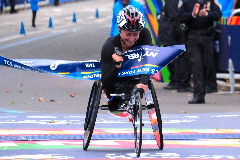 Manuela Schär - SwitzerlandAfter finishing as runner-up at the TCS New York City Marathon three consecutive times, she won her first title in the event, outpacing five-time champion Tatyana McFadden.