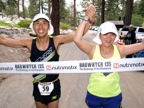 Louisa paced her husband for 135 miles across Death Valley, CA, during the Badwater 135 ultramarathon.