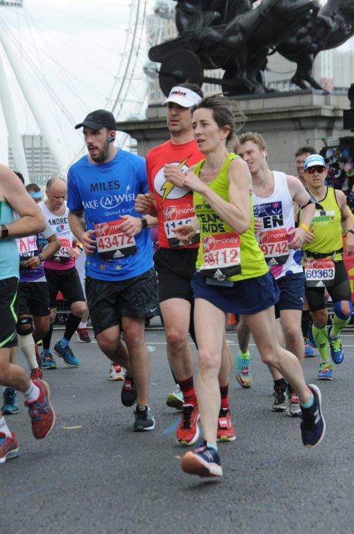In 2017, Rachel Pratt completed the Virgin Money London Marathon.
