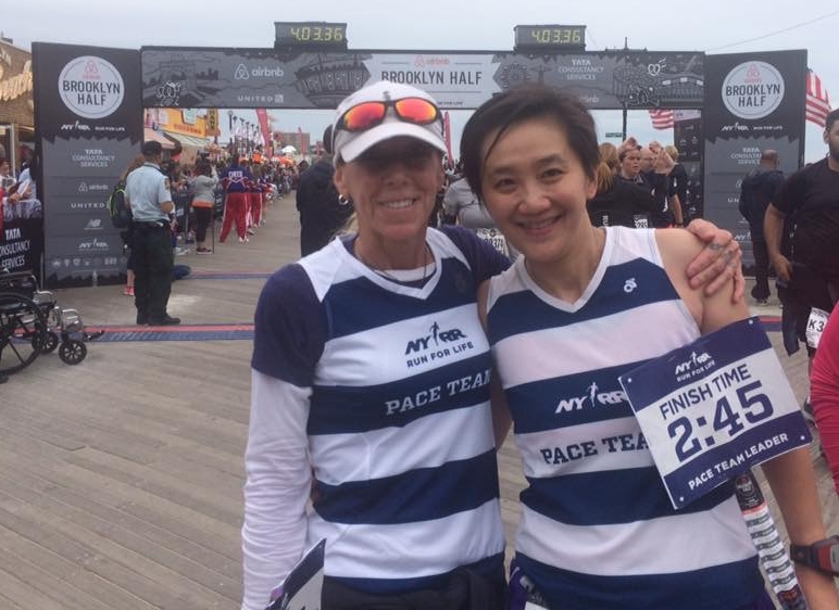 Louisa Lam (Right)