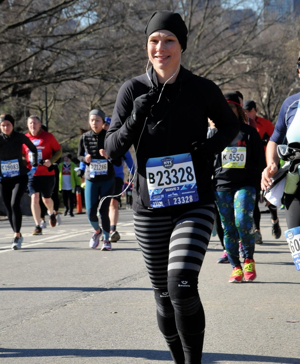 Kimberly Delaney hopes that her running will inspire students—and their families.