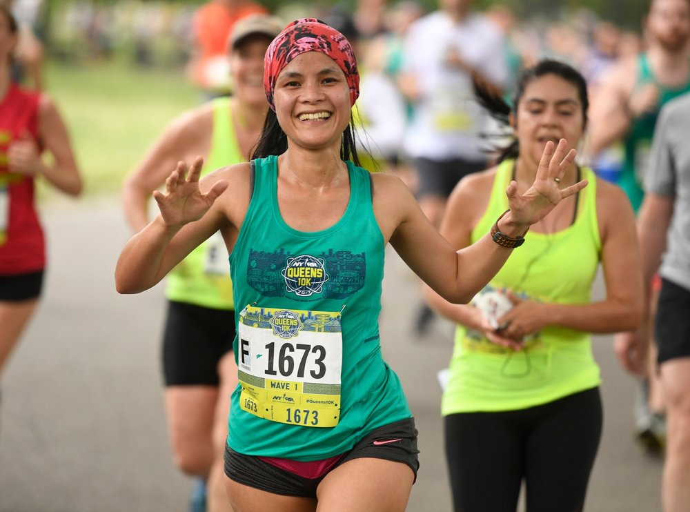 The NYRR Queens 10K will see its 100,000th finisher on June 16, 2018!