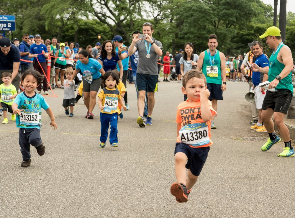With Rising New York Road Runners races and activities for kids, the NYRR Queens 10K is an event for runners of all ages in the great borough of Queens.